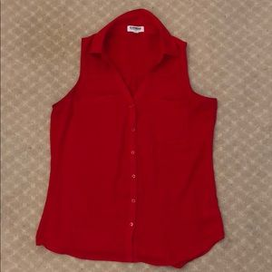 Red Blouse Tank